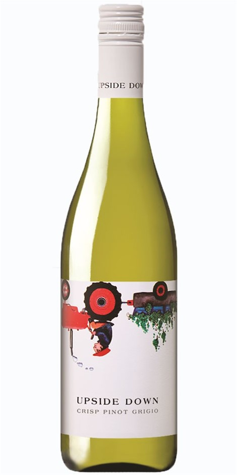 Upside Down Pinot Grigio 2019 (6x 750mL).TAS.