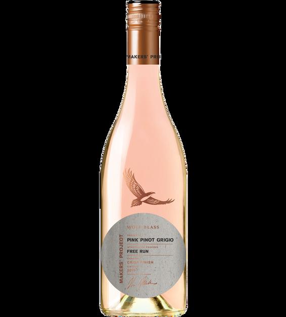 Wolf Blass Makers' Project Pink Pinot Grigio 2019 (6x 750mL).TAS.