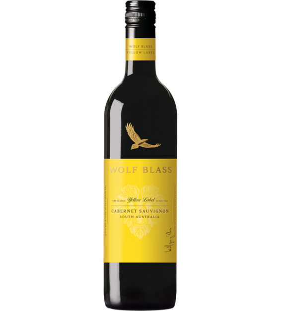Wolf Blass Yellow Label Cabernet Sauvignon 2017 (6x 750mL).TAS.