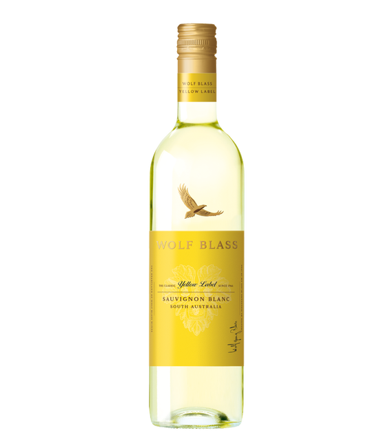 Wolf Blass Yellow Label Sauvignon Blanc 2019 (6x 750mL).TAS.