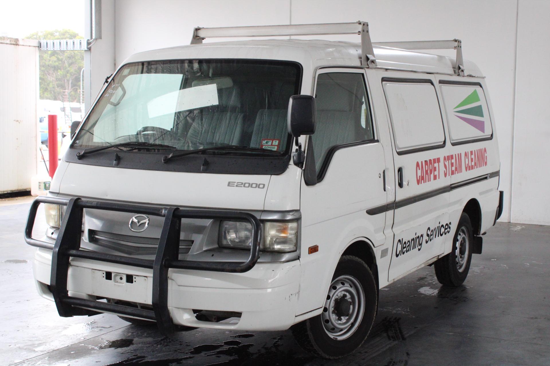 2001 Mazda E2000 G Manual Van