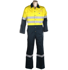 2 x Pairs Cotton Drill Hi-Vis Work Cover