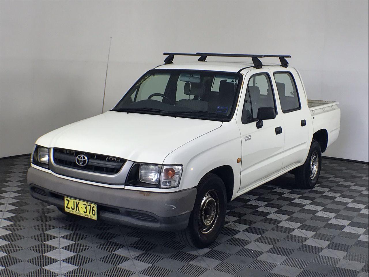 2004 Toyota Hilux Manual Dual Cab