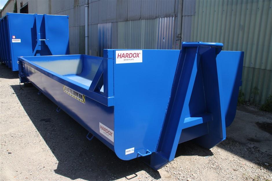 2020 IWS Unused Hardox 10 Cubic Meters Hook Lift Bin