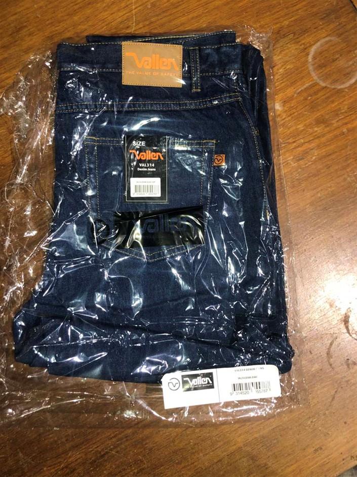 1 x Pair Heavy Duty Work Jeans, Size: 77R, Brand: Vallen