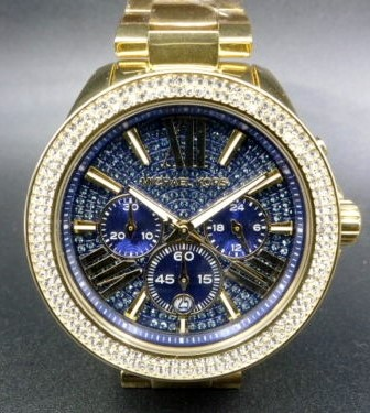 New Michael Kors Couture NY 'Wren' gemstone classy watch.