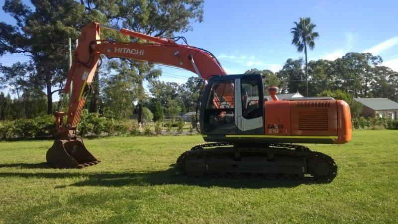 Hydraulic Excavator, Hitachi ZX210H-3