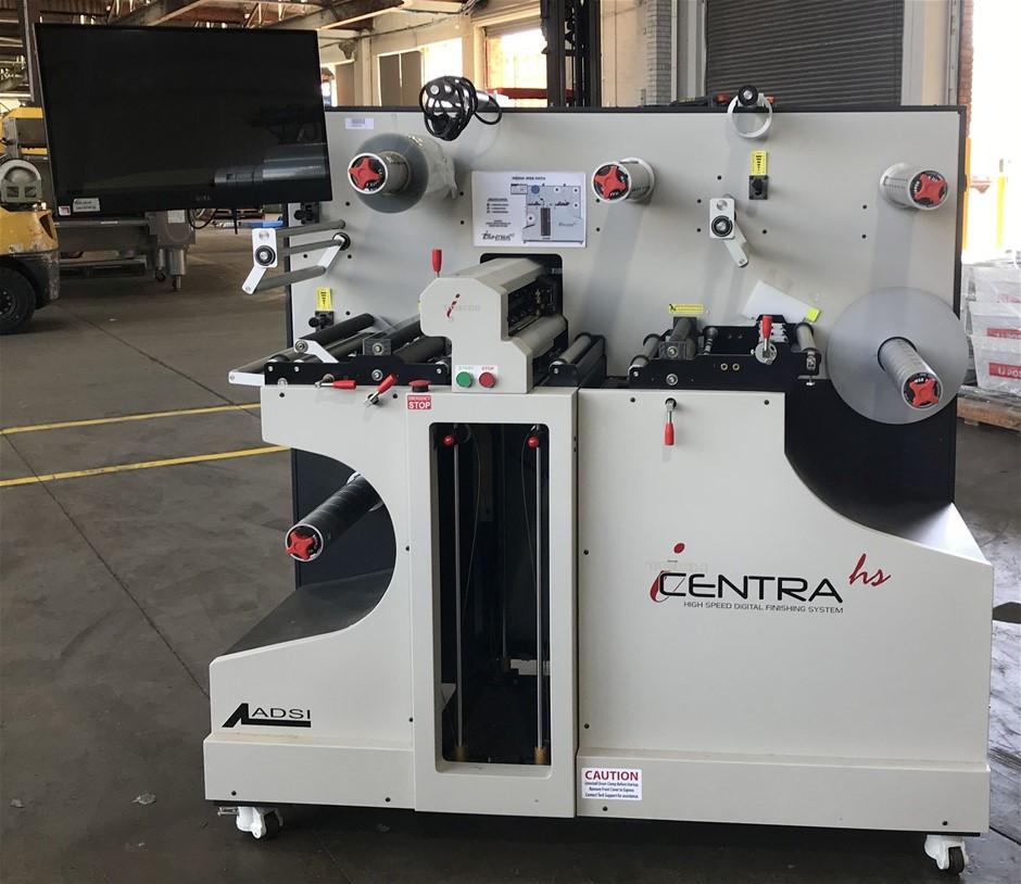 Centra I-Tech High speed digital label finisher, label printer
