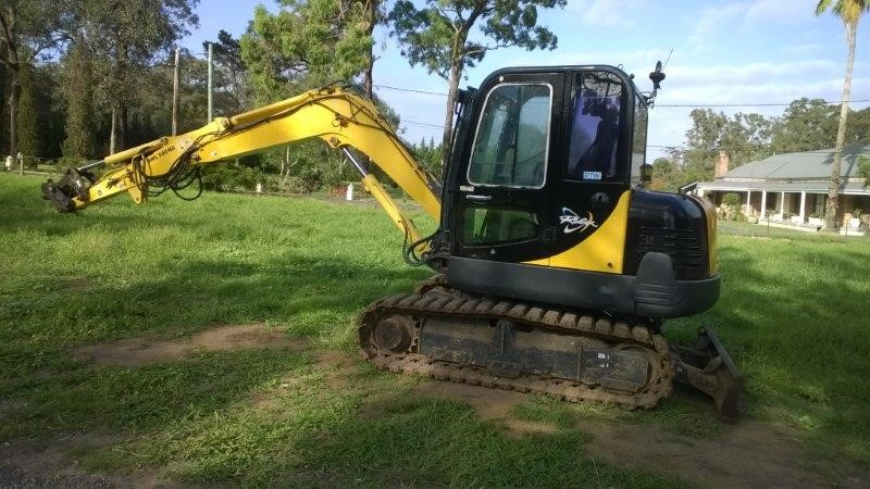 Hyundia Robex Excavator, 55-7A