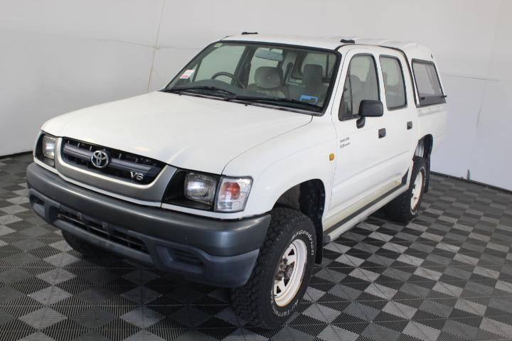 2004 Toyota Hilux (4x4) Dual Cab