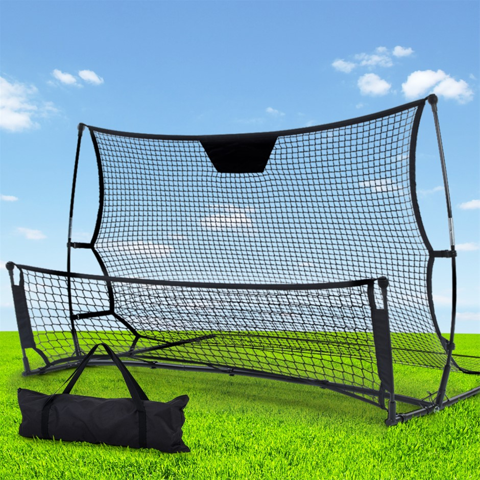 Everfit Portable Soccer Rebounder Net Volley Training Goal Trainer XL