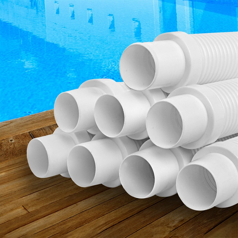 Aquabuddy Pool Cleaner Hose EVA Generic White Kreepy Krauly 8x120cm