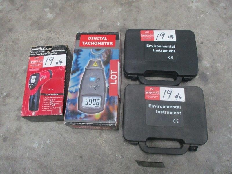 Qty 4 x Automotive Testing Equipment