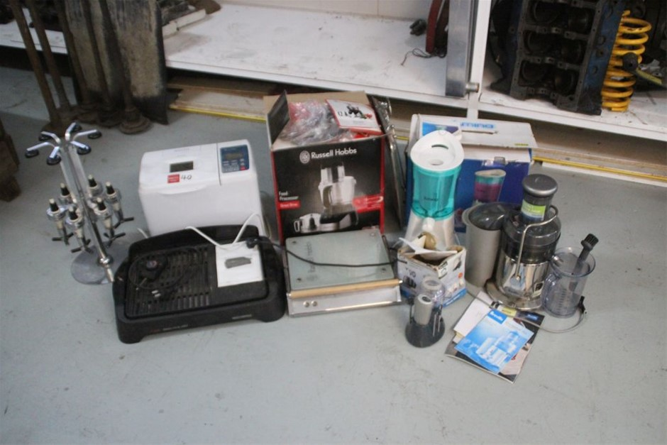Assorted Kitchen Appliances