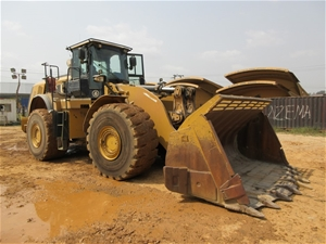2012 Caterpillar 980K Wheel Loader with