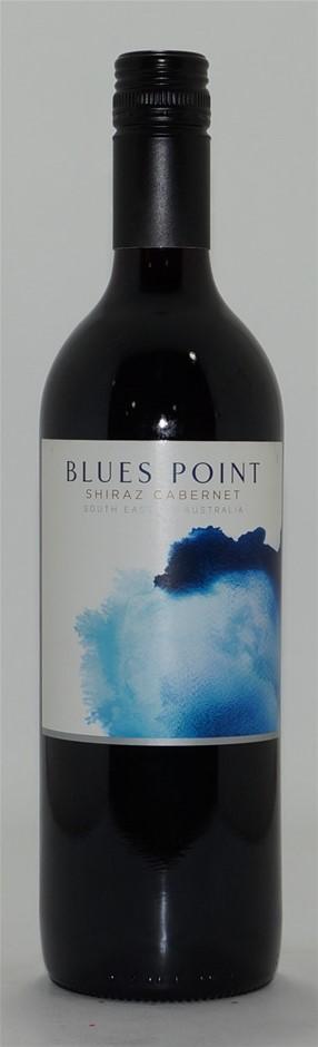 Blues Point Shiraz Cabernet NV (6x 750mL), SEA. Screwcap.