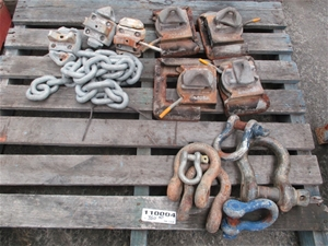 Qty 14 x Shackles and Container Pins