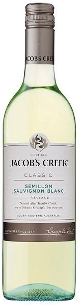 Jacobs Creek Classic Semillon Sauvignon Blanc 2019 (12 x 750mL) SE, AUS.