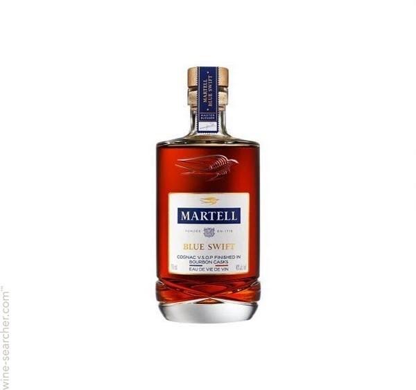 Martell Blue Swift Cognac (6x 700mL), France.
