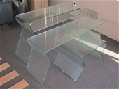 Bulk Lots of Glass and Timber Tables, Parts, Mirrors, Chairs