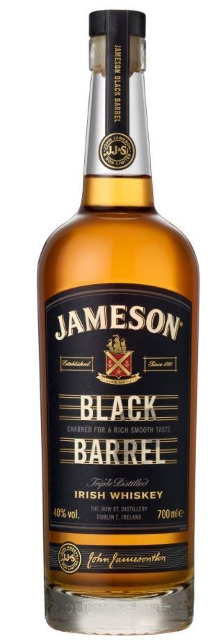 Jameson 'Black Barrel' Irish Whiskey (6 x 700mL)