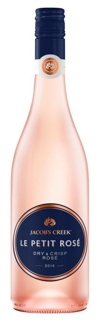 Jacob's Creek Le Petit Rosé 2019 (6 x 750mL), SE AUS.