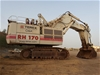 2007 Terex RH170 Hydraulic Excavator with Bucket and Parts List (EO2017)