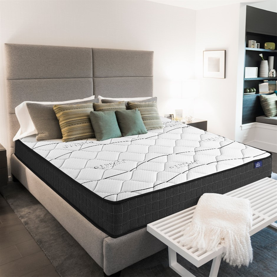 Giselle Bedding King Single Mattress Bed Medium Firm Foam Spring 16cm