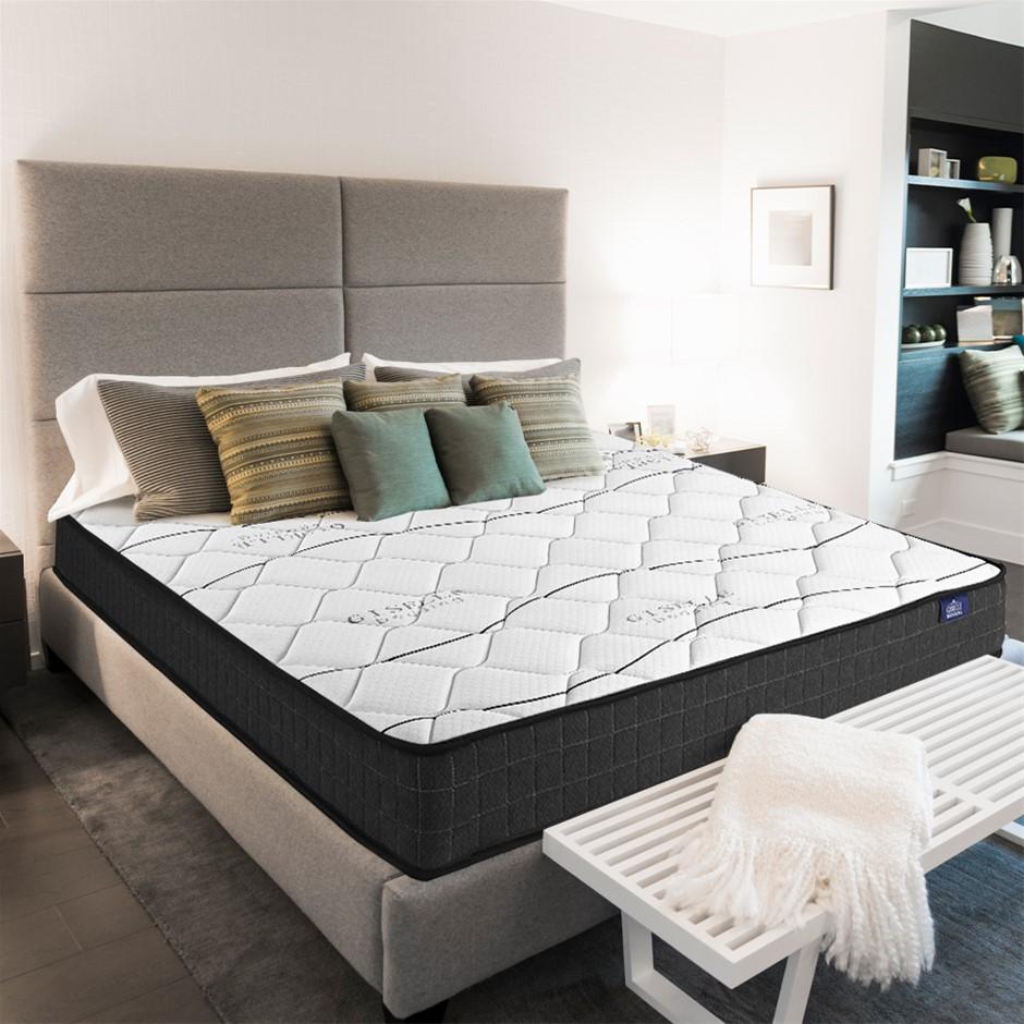 Giselle Bedding Queen Mattress Bed Medium Firm Foam Bonnell Spring 16cm