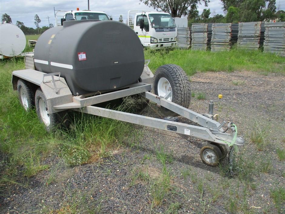 Tandem Fuel Trailer 1500 Litre Diesel