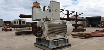Industrial Plant Motor
