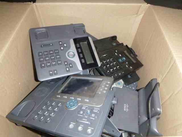 Cisco Large Quantity of IP Phones