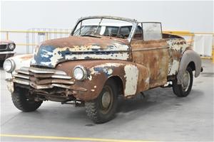 1942 Chevrolet Special Deluxe Convertibl