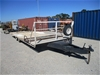 2007 Water Store Tandem Plant Trailer