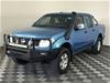 2008 Nissan Navara ST-X (4x4) D40 Turbo Diesel Manual Dual Cab