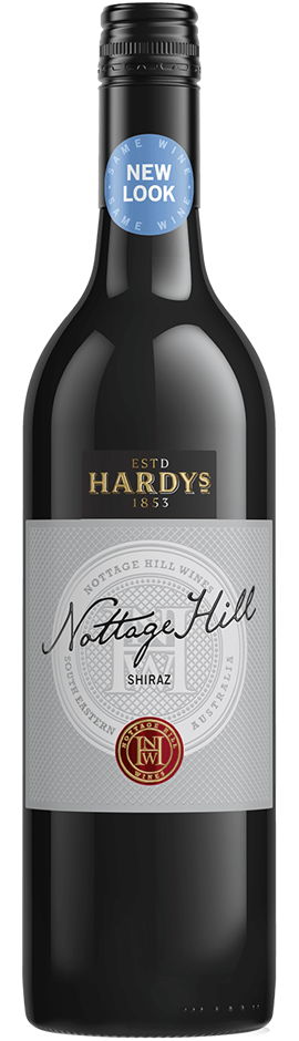 Hardy's `Nottage Hill` Shiraz 2017 (6 x 750mL), SE AUS.