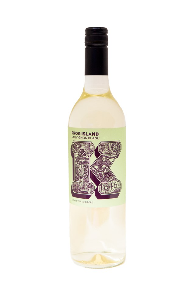 Karatta Wines K Series Frog Island Sauvignon Blanc 2018 (12 x 750mL) Robe