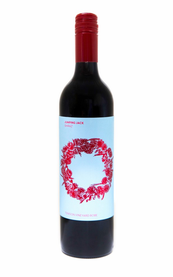 Karatta Wines Wild Flowers Jumping Jack Shiraz 2014 (12 x 750mL) Robe
