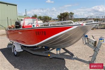 Stacer 489 Barra Aluminium Sports Fishing Boat