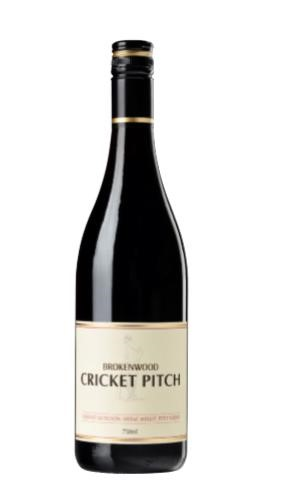 Brokenwood `Cricket Pitch Red` Cabernet Merlot Shiraz 2017 (6 x 750mL)AUS.