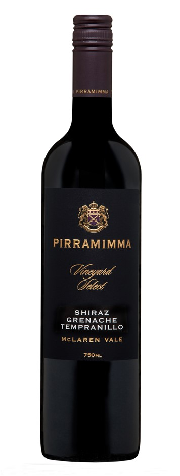 Pirramimma Vineyard Select Shiraz Grenache Tempranillo 2016 (6 x 750mL) SA