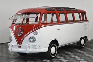1973 Volkswagen Kombi Manual 9 Seats Van