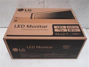 5 x LG 17MB15 17`` LED Monitors