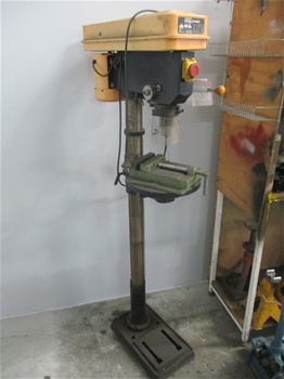 NU Power NPPD450W Pedestal Drill Evolution