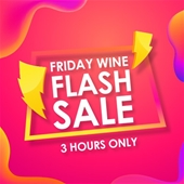 Friday Flash Sale - 3hrs Only !!!