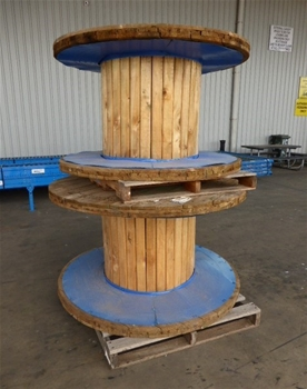 A Large Qty of Timber Cable Drums