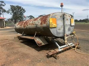 Chassis Mounted Water Tank