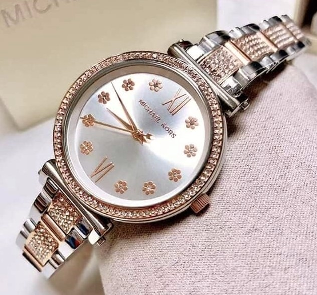 Ladies brand new Michael Kors Couture NY 'Sofie' feminine & classy watch