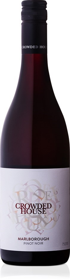 Crowded House Pinot Noir 2018 (12 x 750mL), Marlborough, NZ.