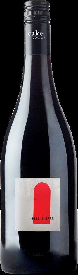 Cake Wines Shiraz 2018 (12 x 750mL), Adelaide Hills, SA.